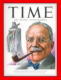 CIA director Allen Dulles on the cover of Time magazine, 1953