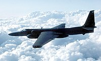 """Lockheed U-2 """"Dragon Lady"""", the first generation of near-space reconnaissance aircraft"""