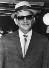 The CIA recruited Sam Giancana (pictured), Santo Trafficante and other mobsters to assassinate Fidel Castro.