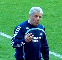 Kevin Keegan (pictured in his second spell in 2008) guided Newcastle to promotion and Champions League football from 1992 to 1997, turning United into one of the biggest clubs in England despite not winning the league