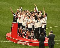 Newcastle made an immediate return to the top-flight in 2010 after their relegation the year prior.