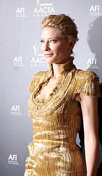 Cate Blanchett on screen and stage