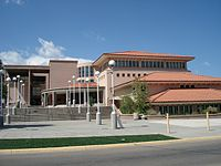 Donnelly Library at New Mexico Highlands University