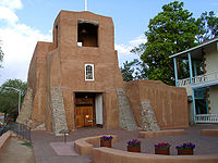 San Miguel Chapel, built in 1610 in Santa Fe, is the oldest church structure in the U.S.