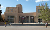 Zimmerman Library at The University of New Mexico