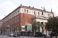 The Royal Spanish Academy Headquarters in Madrid, Spain.