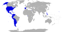 Countries members of the ASALE.