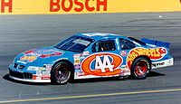 The Hot Wheels-sponsored car of Kyle Petty in 1997