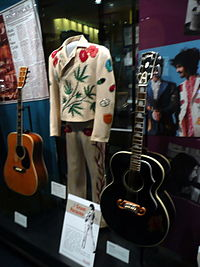 Parsons's Nudie suit in the Country Music Hall of Fame in Nashville