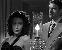 With Ava Gardner in The Killers (1946)