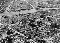 The Operation Meetinghouse firebombing of Tokyo on the night of March 9–10, 1945, was the single deadliest air raid in history; with a greater area of fire damage and loss of life than either of the atomic bombings of Hiroshima or Nagasaki.