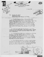 General Thomas Handy's order to General Carl Spaatz ordering the dropping of the atomic bombs