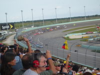 Homestead-Miami Speedway, the track where the race was held.