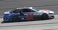 Cole Custer in the No. 41 at Dover International Speedway in 2020