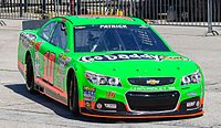 Danica Patrick at Texas in 2013.