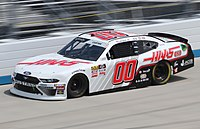 Cole Custer in the No. 00 at Dover International Speedway in 2019