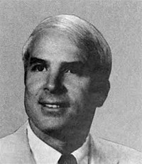McCain in 1983, during his first term in the House of Representatives