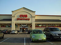 A CVS Pharmacy (Store #6240) in Southside Place, Texas (Greater Houston) that was formerly an Eckerd.
