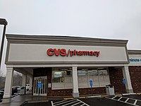 A typical 2000s CVS in Coventry, Connecticut.