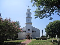 St. John's Episcopal Church, built in 1741, is the oldest church in the city.