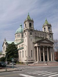 The Cathedral of the Sacred Heart, dedicated in 1906