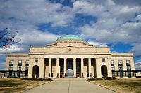 The Science Museum of Virginia, housed in Broad Street Station, designed by John Russell Pope