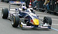 Vettel driving at a F3 Euroseries demonstration event in 2006