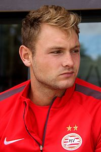 Zoet pictured in July 2014 at the club's training camp.