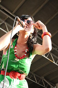 Perry was part of the 2008 Warped Tour lineup.