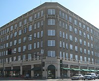 The historic Hotel Glendale was built in the 1920's.