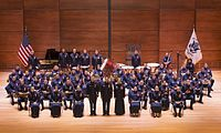 The United States Coast Guard Band in 2013
