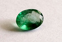 Colombian emerald. The country is the largest producer of emeralds in the world, and Brazil is one of the largest producers