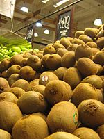 Chilean kiwi. The country is one of the 10 largest kiwi producers in the world.
