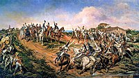 Declaration of the Brazilian independence by the later Emperor Pedro I on September 7, 1822