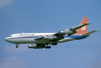The 707-020 (720) is 9 ft (2.7 m) shorter than the 707-120.