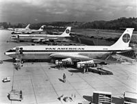 Pan Am introduced the 707-120 on October 26, 1958.
