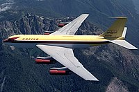 """The 707 was based on the 367-80 (the """"Dash 80"""")."""