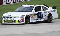 Racing for Roush Fenway in 2011