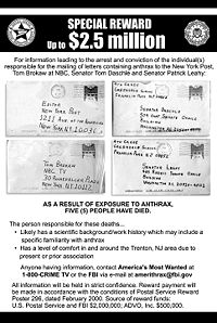 A reward for information totalling $2.5 million is being offered by the FBI, U.S. Postal Service and ADVO, Inc.