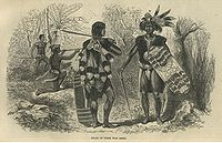 Dayak, the main indigenous people in the island, were feared for their headhunting practices.