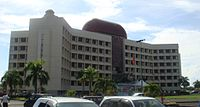 Government building in the Samoan capital Apia housing administrative ministerial offices.