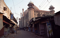 A back-side view of the Jama Masjid