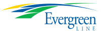 Evergreen Line logo used during the planning stage