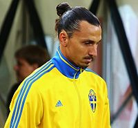 Ibrahimović (pictured in Russia in September 2015) retired from international football after Euro 2016
