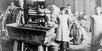 """Magdalene laundries were institutions that existed from the 18th to the late 20th centuries, throughout Europe and North America, where """"fallen women"""", including unmarried mothers, were detained. Photo: Magdalene laundry in Ireland, ca. early 20th century."""