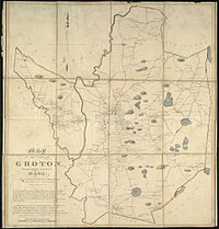 1831 map of Groton