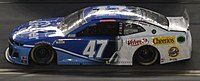 Stenhouse's No. 47 competing in the 2020 Daytona 500