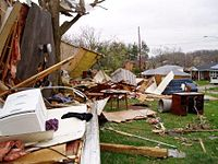 March 2009 tornado outbreak sequence