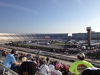 The Lucas Oil 200 at Dover International Speedway in May