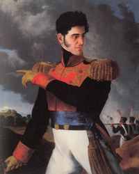 General Antonio López de Santa Anna was a military hero who became president of Mexico on multiple occasions. The Mexican Army's intervention in politics was an ongoing issue during much of the mid-nineteenth century.
